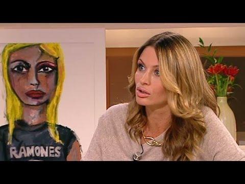 Carolina Gynning har hittat tillbaka till konsten - Nyhetsmorgon (TV4)