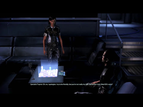 Mass Effect 3 Shepard Getting Rejected by Traynor