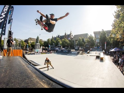 Teaser: World Cup Skateboarding @ Pro Freestyle The Hague 2-3 jun 2017 €10.000 prize purse
