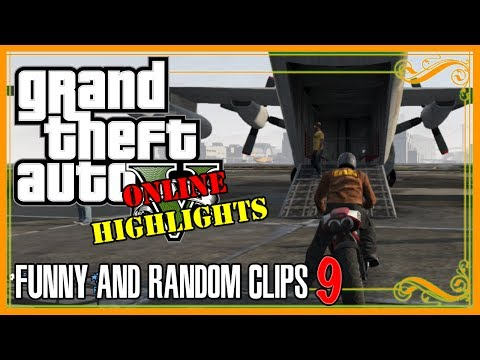 Grand Theft Auto 5 | GTA V Online Highlights and Funny Clips Part 9 With Crew