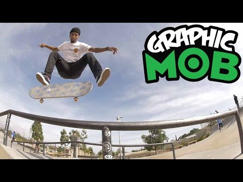 Maurio McCoy: Talkin' MOB at Sheldon Park | CLEAR Graphic MOB x Santa Cruz Skateboards