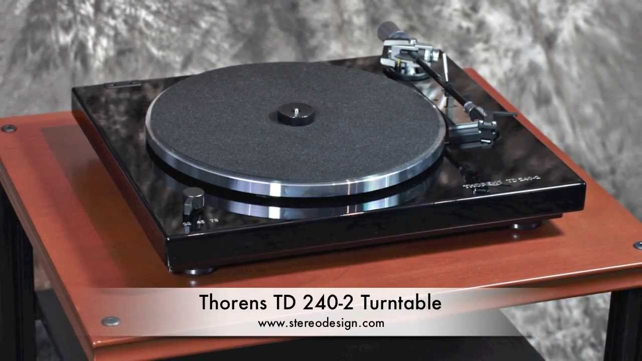 Thorens Turntable Thorens td 240-2 Turntable