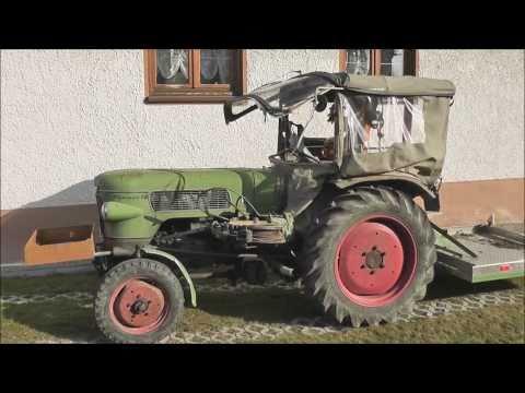 Fendt Farmer 1Z Traktor mit Seilwinde