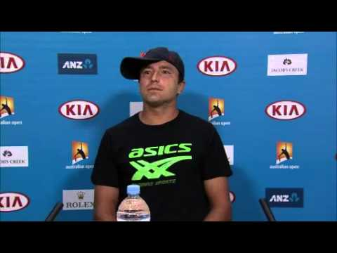 Marinko Matosevic press conference (1R) - Australian Open 2015