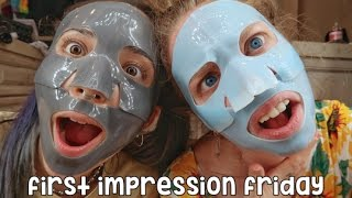 RUBBER FACE MASKS! - FIRST IMPRESSION FRIDAY