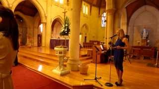 Ave Maria (Beyonce) - Wedding Ceremony 28 March 2015