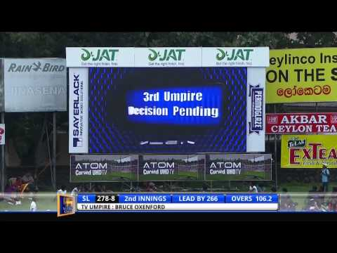 Sri Lanka v Pakistan 2nd Test: Day 4: Highlights