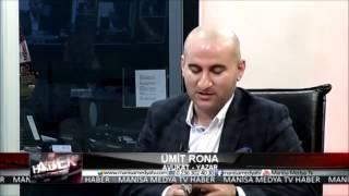 Ümit Rona Manisa Medya TV'de Mecazi Gölgeler kitabını anlattı