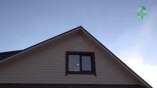 Обследование тепловизором каркасного дома /бани (часть 3)