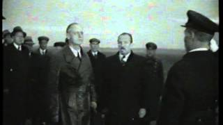 Ribbentrop Arrives in Moscow (1939)