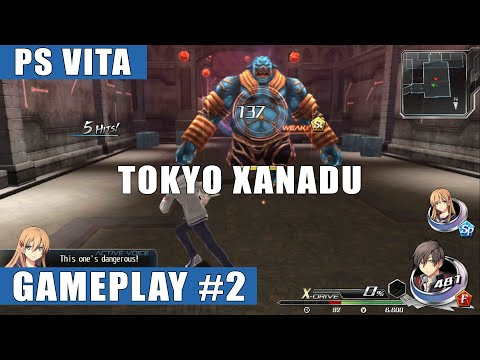 Tokyo Xanadu English PS Vita Gameplay #2 (Ruins of Abstraction)