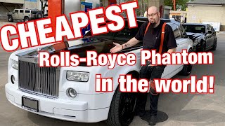 I bought the cheapest Rolls Royce Phantom in the world! The most in depth look at the car!