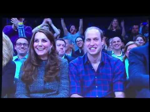 Video: Duke & Duchess Of Cambridge Meet Brooklyn Royalty, Jay-Z & Beyonce