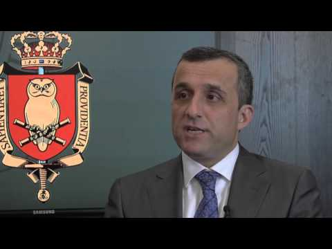 Interview with former Afghan Intelligence Chief Amrullah Saleh