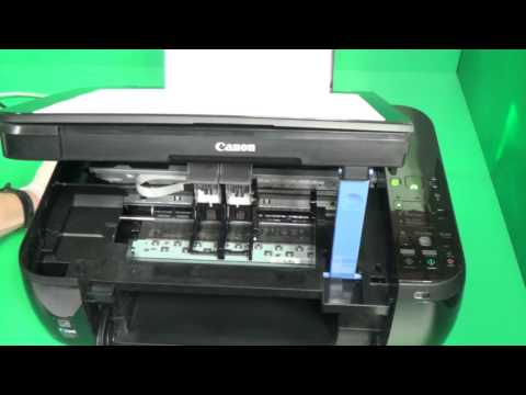 Canon ink cartridges with print-head. not recognized. missing. damage. low level. common problems