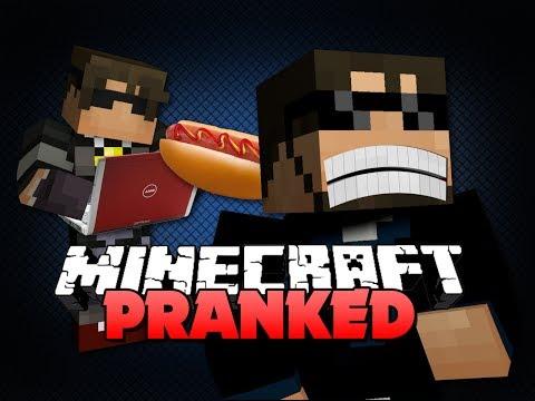 Minecraft PRANKED - The Minecraft Crash Client Prank