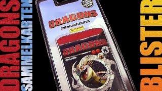 Dragons - Panini ® Trading Card Game - Sammelkarten Blister Unboxing / 2015 Re-Upload