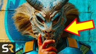 30 Black Panther Easter Eggs And Secrets You Missed