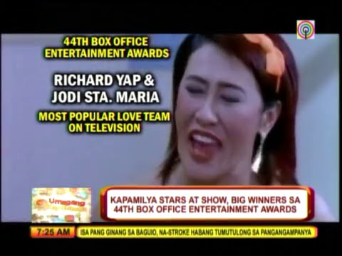 Kapamilya stars win big at Box Office Entertainment Awards