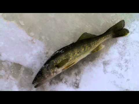 Wisconsin River Ice Fishing