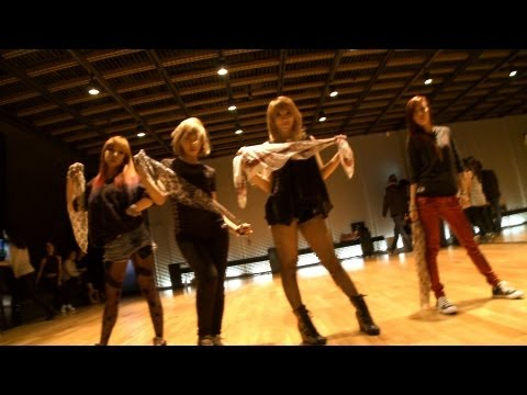 2ne1 - i Love You Dance Practice Video video