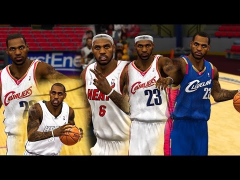 NBA 2K14 - LEBRON SIGNS WITH CLEVELAND CAVALIERS