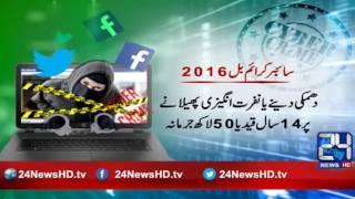 24 Report:Cyber crime bill passed by NA, 13 reasons Pakistanis should be worried