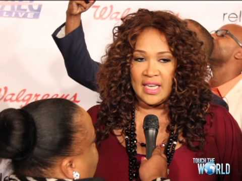Lady Eva J interviews Kym Whitley at The 2013 Merge Summit Red Carpet Event
