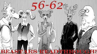 Everyone's New Paths! | Beastars Chapters 56-62 Readthrough!