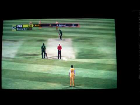 Ashes Cricket 09 GAMEPLAY