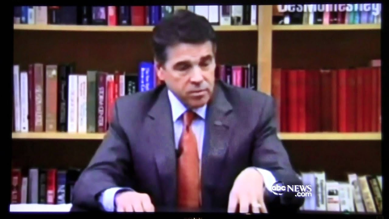 Rick Perry Can't Remember Judge Sotomayor's Name