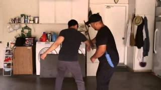 filipino martial arts - three tools fight scene - final