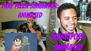 FNAF PIZZA SIMULATOR ANIMATED REACTION (FEAT. MR. STANO) | Markiplier Animated