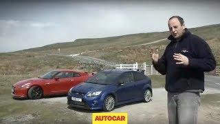 Ford Focus RS vs Nissan GT-R - Autocar.co.uk