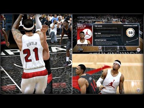 NBA Live 15 PS4 Rising Star Mode Gameplay - Jordan Take Flight Showcase!! Ep. 2