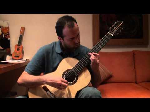Prelude in D-minor (BWV 999) JS Bach - Eduardo Díaz