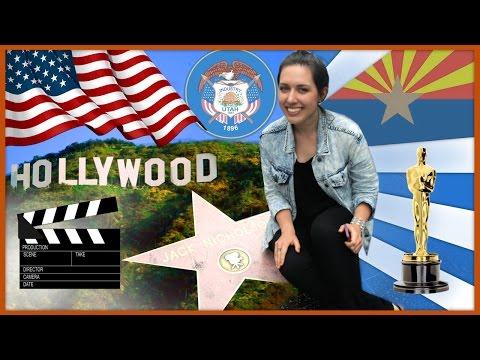 ПУТЕШЕСТВИЕ ПО США / HOLLYWOOD!!! / CALIFORNIA, UTAH, ARIZONA, NEVADA (Выпуск 3/3)