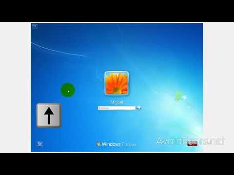 Recuperar Clave o Contraseña en Windows 7 Sin Disco paso a paso