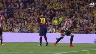 Lionel Messi vs Athletic Bilbao  -VIP Camera- (HD/HFR)