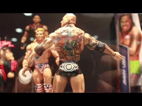 Mattel WWE Elite & Basic Action Figures San Diego Comic-Con 2014 Display