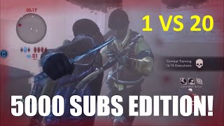 1 vs 20 Comeback! (5000 Subs Edition) - The Last of Us: Remastered Multiplayer (High School)