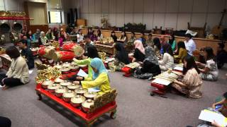 Sounds of Indonesian Gamelan - NIE/NTU Students