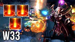 w33 Sunstrike GOD is Back - EPIC Invoker Compilation - Dota 2