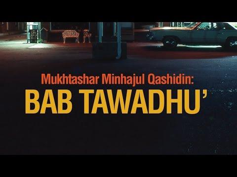 Bab Tawadhu - Ustadz Ahmad Zainuddin Al-Banjary