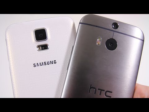 Samsung Galaxy S5 vs All New HTC One (M8) - Full Comparison (2)