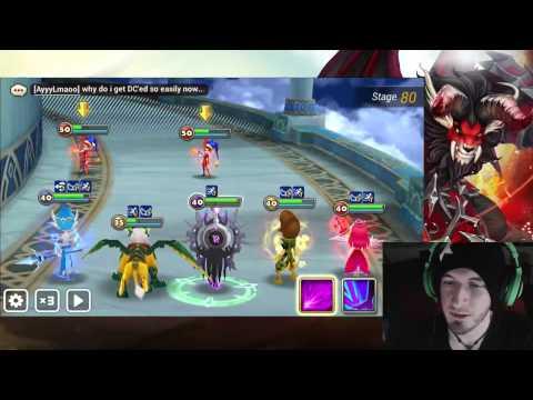 Summoners War Oracle Summoners War Toa 80 vs