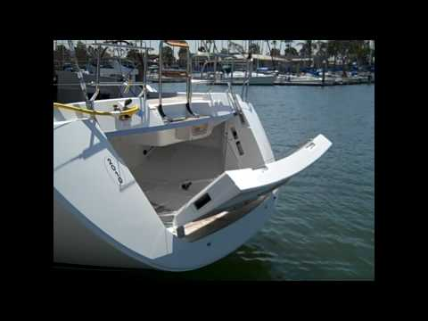 Jeanneau 57 Yacht Sailboat Electric Stern Transom preview By: Ian Van Tuyl