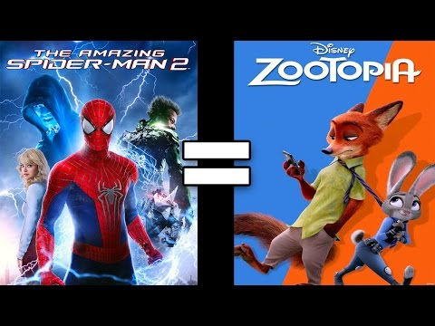 24 Reasons The Amazing Spiderman 2 & Zootopia Are The Same Movie Part I
