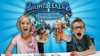LIGHTSEEKERS!!! COOL NEW ACTION FIGURES in a VIDEO GAME!!!