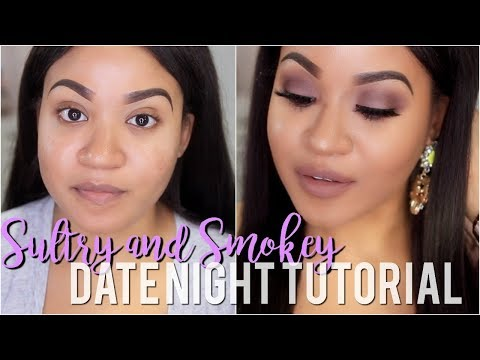 Spring Date Night Makeup Tutorial   Mauve Sultry Smokey Eye!!